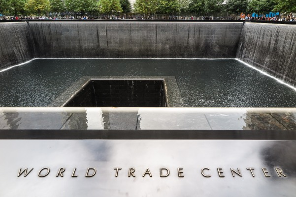 Twin Tower Reflecing Pool Memorial